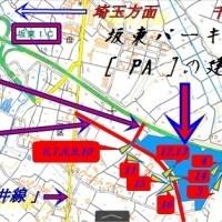 坂東パーキングエリア建設予定地マップ