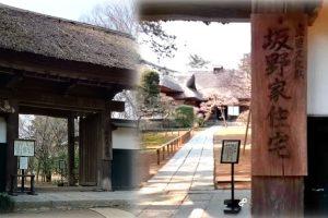 茨城県の観光名所の坂野家住宅に行った