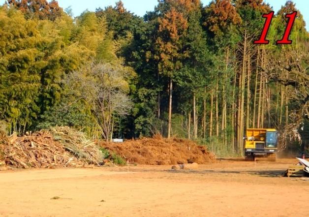 坂東PA建設予定地の南側