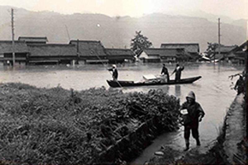 1965年くまがわの氾濫