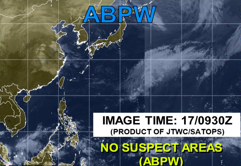 米軍JTWC台風23号の衛星画像