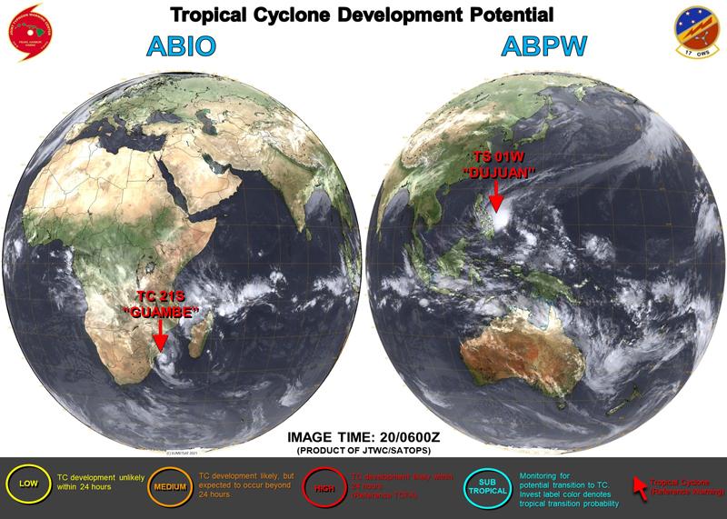米軍JTWC衛星画像が変わった