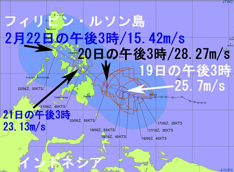 米軍JTWCトロピカルサイクロン台風1号2021